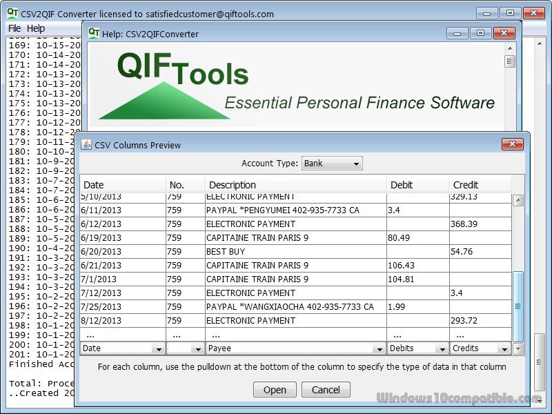 qif to pdf converter free download